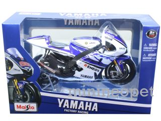 Maisto 31402 Moto GP 12 2012 Yamaha Factory Racing Bike 99 1 10 Jorge Lorenzo