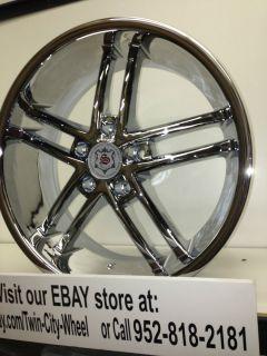 "18 inch Chrome Sevizia Wheels Rims Mitsubishi Eclipse galant Lancer Endeavor 18"""