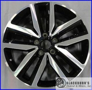 "2012 12 Volkswagen VW Jetta 18"" Machined Black Wheel Factory Rim 69941"