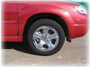 C C Car Worx Wheel Cover Hub Caps for Subaru Forester XL 03 04 05 06 07 FL 03 WC