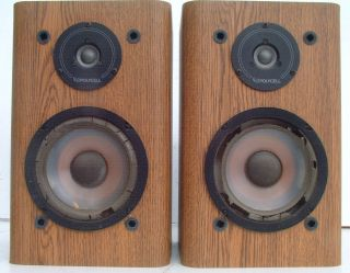 Infinity RS 2000 Infinity Bookshelf Speakers 6 5 inch Woofers
