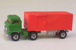 Hino Semi Truck Cab N Box Trailer Tomica Japan