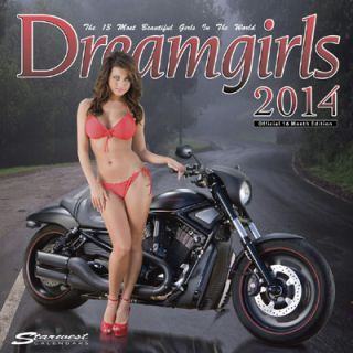 2013 Sexie Dream Girls Calendar Hot Girls Cool Custom Motorcycles 16 Month Edit