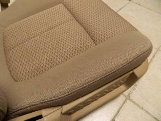 2009 2010 2011 2012 Ford F 150 F150 FX4 Front Tan Cloth Power Bucket Seats