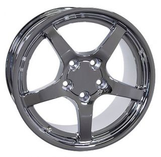 "18"" Rim Fits SS Camaro Corvette C5 Deep Dish Wheels Set"