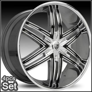24 inch Rims Wheels for Chevy Ford RAM Lexani Escalade