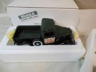 New Danbury Mint Diecast Car 1935 US Mail Truck Accessories