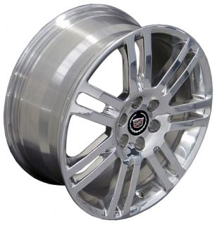 "18"" Rims Cadillac SRX Wheel 4637 Polished 18x8"
