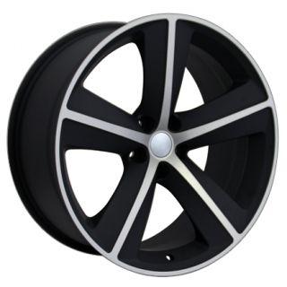 "20"" Matte Black Challenger SRT Wheel 20x9 Rim Fits Dodge Charger Magnum RT"