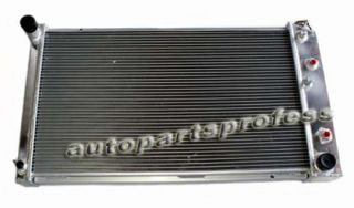 New 2 Row Radiator for Oldsmobile Toronado 1980 1985 at MT 4 1L 5 0L Gas Engine