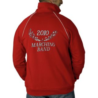 2010 Red Embroidered Marching Band Jacket