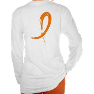 Leukemia's Orange Ribbon A4 Tees