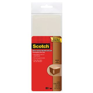 Scotch Packaging Re Use Heavy Duty Box Edge Reinforcers 3 x 8  Pack Of 8