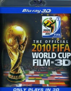 The Official 2010 Fifa World Cup Film in 3D (Blu ray Disc) Sony Home Pictures Sports & Recreation