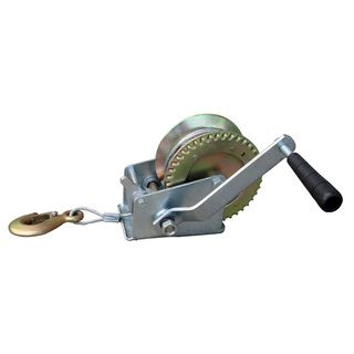 Buffalo Tools 1000 pound Hand Winch Buffalo Tools Towing & Trailers