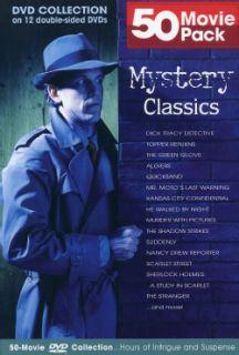 50 Movie Mystery Classics (DVD) Mystery & Suspense