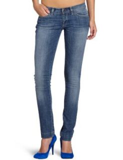 "Miss Sixty Damen Jeans JZ4S00 DL9059 L00U54 F09950/MAGIC TROUSERS 32"", Gr. 26/32, Blau (F09950 (DENIM BLUE): Bekleidung"