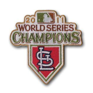 MLB St. Louis Cardinals 2011 World Series Champions Logo Patch Sports & Outdoors