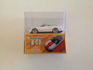 Matchbox Superfast 40th Anniversary 2007 Ford Shelby GT 500 White #11: Everything Else