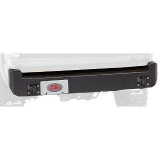 Body Armor 4x4 TC 2961Black   Steel Rear Bumper for 2005 2013 Toyota Tacoma: Automotive