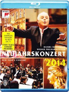 Neujahrskonzert 2014 / New Year's Concert 2014 [Blu ray]: Daniel Barenboim: Movies & TV