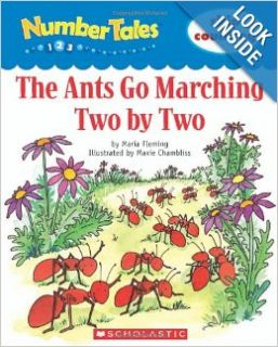Number Tales the Ants Go Marching Scholastic, Maria Fleming, N/a N/a 9780439690249 Books