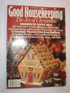 {Christmas Crafts} Good Housekeeping Magazine {Volumre 223, Number 6, December 1996} +++Special 1996 Christmas Issue+++: Ellen {Editor In Chief} Levine: Books