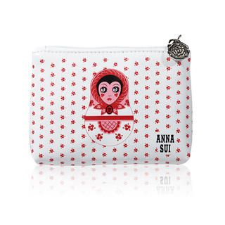 Dolly Girl Coin Purse (Red)   Anna Sui