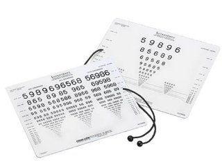 LEA Numbers Near Vision Eye Chart: Health & Personal Care