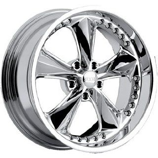 Foose Nitrous 20 Chrome Wheel / Rim 5x4.5 with a 34mm Offset and a 72.60 Hub Bore. Partnumber F11728565 Automotive