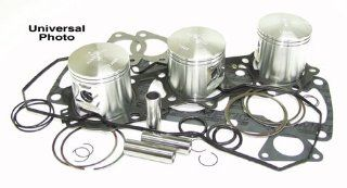 WISECO PISTON KIT YAMAHA, Manufacturer WISECO, Manufacturer Part Number SK1332 AD, Stock Photo   Actual parts may vary. Automotive