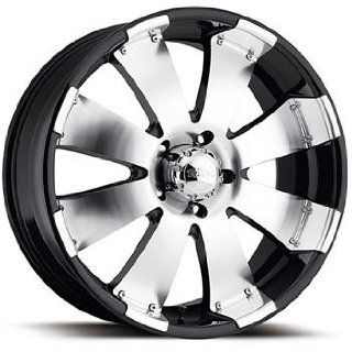 Ultra Mako 20x9 Machined Black Wheel / Rim 8x180 with a 35mm Offset and a 124.21 Hub Bore. Partnumber 243 2998B: Automotive