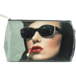 Lipstick Woman Wash Bag   Cosmetic Bags