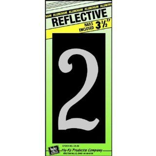 """3 1/2"""" Refl ALU Num 2"""