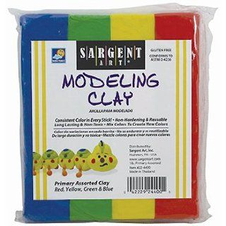 Sargent art modeling clay primary, Sold as 1 Each : Other Products : Everything Else