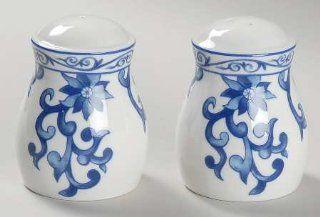 Ralph Lauren Mandarin Blue Salt & Pepper Set, Fine China Dinnerware   Kitchen Products