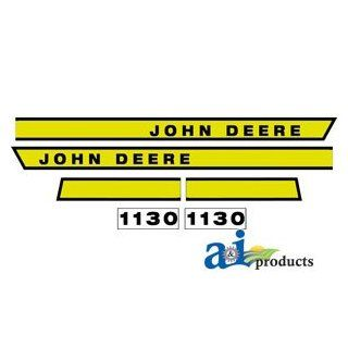 A & I Products Hood Decal Replacement for John Deere Part Number JD1130: Industrial & Scientific