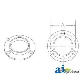 A & I Products BEARING FLANGE Replacement for John Deere Part Number H171037: Industrial & Scientific