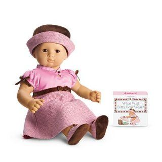 American Girl Bitty Baby Pretty in Pink Dress Outfit (American Girl Bitty Baby/Bitty Twins): Toys & Games