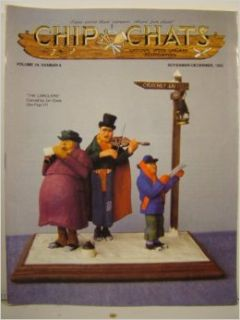 Chip Chats Magazine November December 1992 Cover Art By Jim Cook (Volume 39 Number 6) various Books