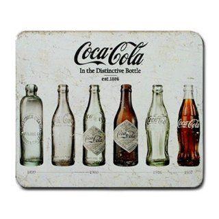 Coca Cola Bottle Evolution Large Mousepad, Mousepad Gift