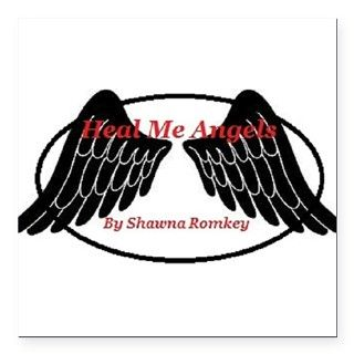 Heal Me Angel Logo Square Car Magnet 3 x 3 by listing store 113369491