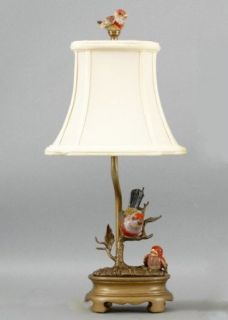 "17"" Bird Candle Holder Desktop Lamp: Home Improvement"
