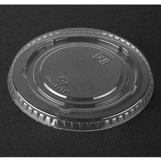 Fabri Kal LKC12/20F PET Plastic Deli Container Lid for RD5   1000/Case