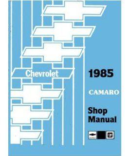 1985 Chevrolet Camaro Shop Service Repair Manual Book Engine Electrical OEM Automotive