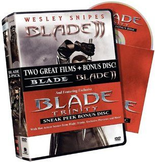 Blade/Blade II 2 Pack: Wesley Snipes, Stephen Dorff, Kris Kristofferson, N'Bushe Wright, Donal Logue, Udo Kier, Arly Jover, Traci Lords, Kevin Patrick Walls, Tim Guinee, Sanaa Lathan, Eric Edwards, Guillermo del Toro, Stephen Norrington, Andrew J. Horn