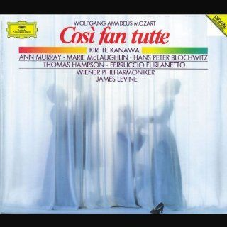 Mozart: Cos� fan tutte / Te Kanawa, Murray, McLaughlin, Blochwitz, Hampson, Furlanetto; Levine: Music