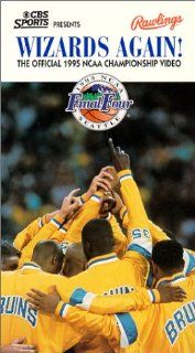 Wizards Again!: The Official 1995 NCAA Championship Video [VHS]: UCLA Bruins, Ed O'Bannon, Tyus Edney, Charles O'Bannon, Cameron Dollar, Jim Harrick: Movies & TV