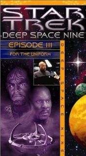 Star Trek   Deep Space Nine, Episode 111: For the Uniform [VHS]: Avery Brooks, Rene Auberjonois, Cirroc Lofton, Alexander Siddig, Colm Meaney, Armin Shimerman, Nana Visitor, Terry Farrell, Michael Dorn, Mark Allen Shepherd, Randy James, Judi M. Durand, Vic