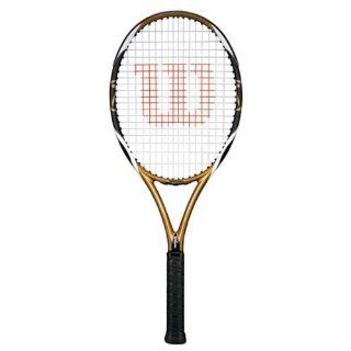 Wilson [K] Brave 105 K Factor Tennis Racquet Grip Size: 4 1/2 : Intermediate Tennis Rackets : Sports & Outdoors